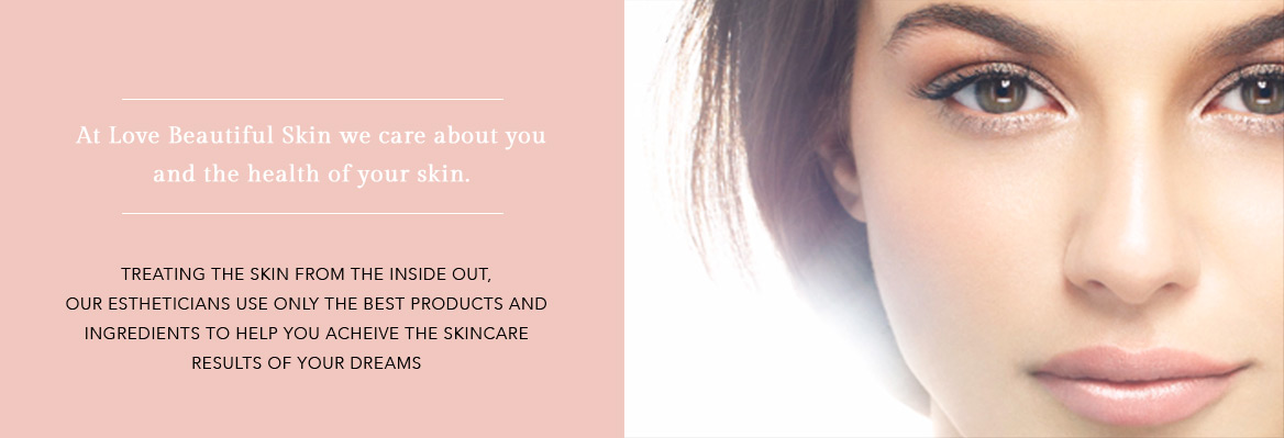 Skincare & Facial Treatment Services by Christina Freeman, Owner and Esthetician at Love Beautiful Skin for North Canton, Akron, Canton, Cleveland, Columbus, Ohio.