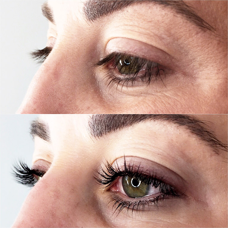 Lash Lift & Lash Tint by Christina Freeman of Love Beautiful Skin. Akron, Canton & Cleveland, Ohio